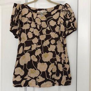 Diane Von Furstenberg Floral Shirt